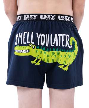 Smell You Later Alligator Kid Boxer