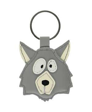 Wolf Keychain