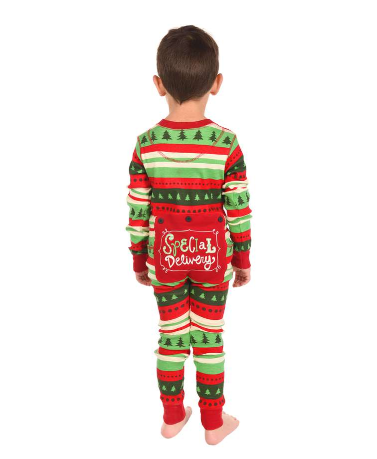 Special Delivery Kid Christmas Onesie Flapjack