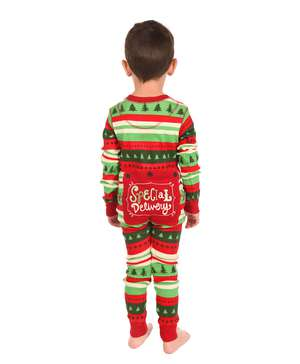 Special Delivery Kid Christmas Onesie (C) Flapjack