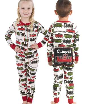 Caboose Kid Train Onesie Flapjack