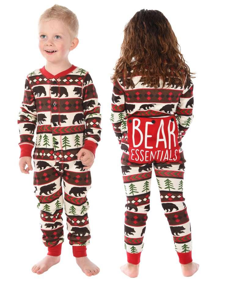 Bear Essentials Kid Onesie Flapjack