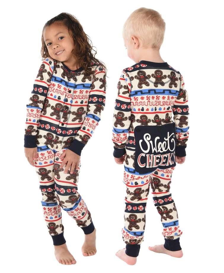 Sweet Cheeks Kid Christmas Onesie Flapjack