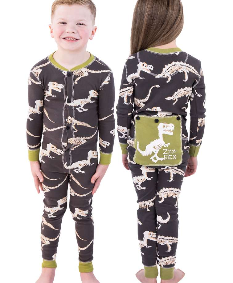 Tail Bone Kid Dinosaur Onesie Flapjack