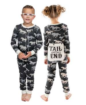 Tail End Kid Horse Onesie Flapjack