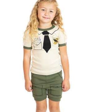 Junior Ranger Kid's PJ Short Set