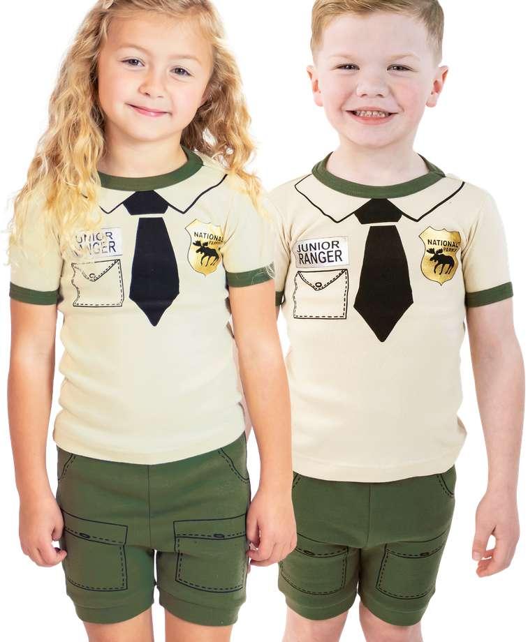 Junior Ranger Kid's PJ Short Set