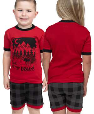 Lost in My Dreams Kid's PJ Short Set