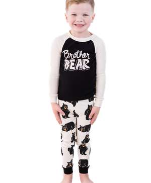 Brother Bear Kid's Long Sleeve PJ's