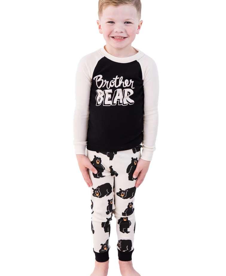 Brother Bear Kid's Long Sleeve PJ's