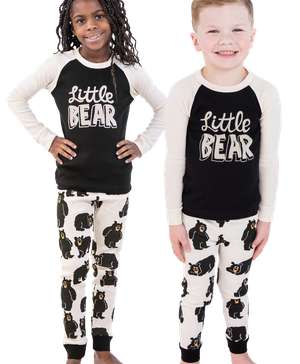 Little Bear Long Sleeve Kid's PJ's