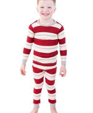Country Stripe Kid's Long Sleeve PJ's
