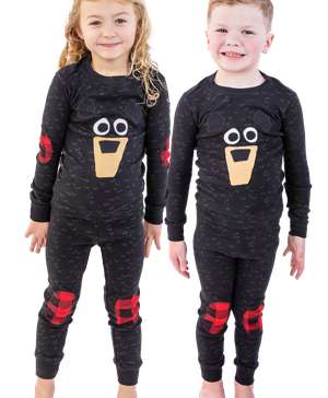 Black Bear Kid's Long Sleeve PJ's