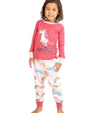 Magical Unicorn Kid's Long Sleeve PJ's