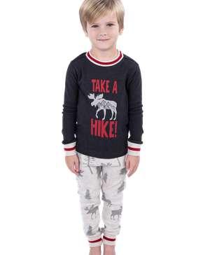 Take a Hike Kid's Long Sleeve PJ's