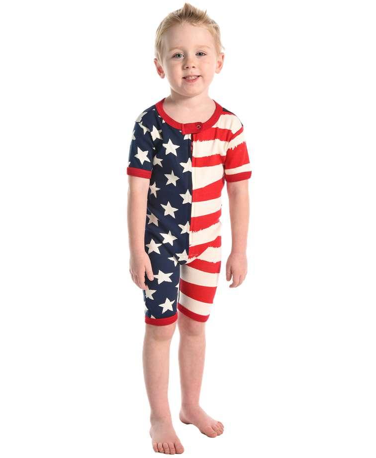 Stars & Stripes Kid Romper