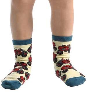 Tractor Kid Sock