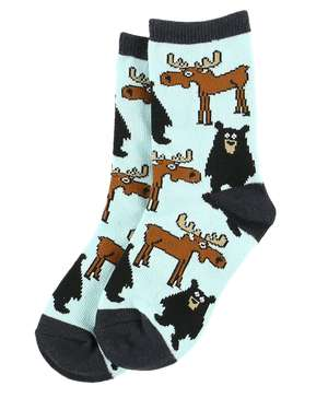 Born Wild Kid Sock
