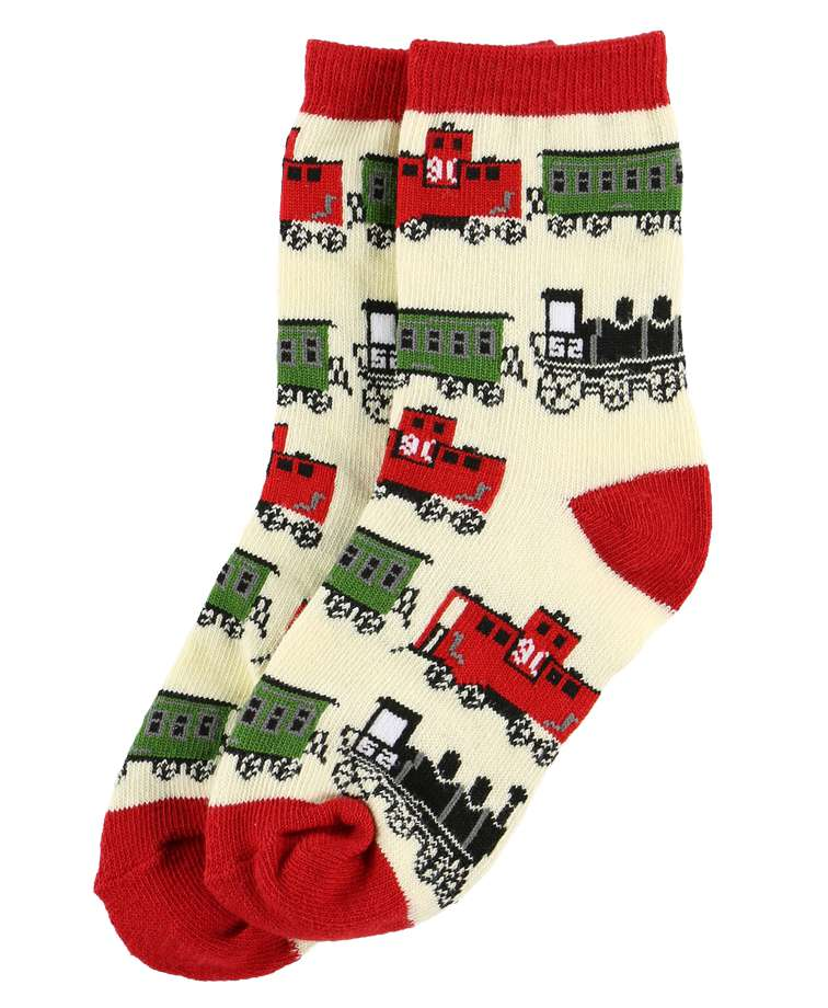 Train Kid Sock