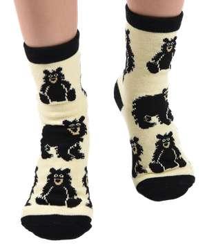 Bear Cub Kid Sock