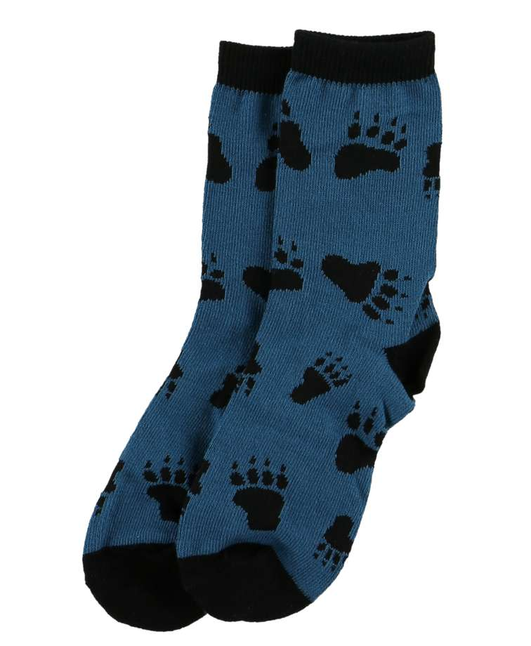Bear Hug Blue Kid Sock