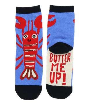 Butter Me Up Lobster Kid Sock