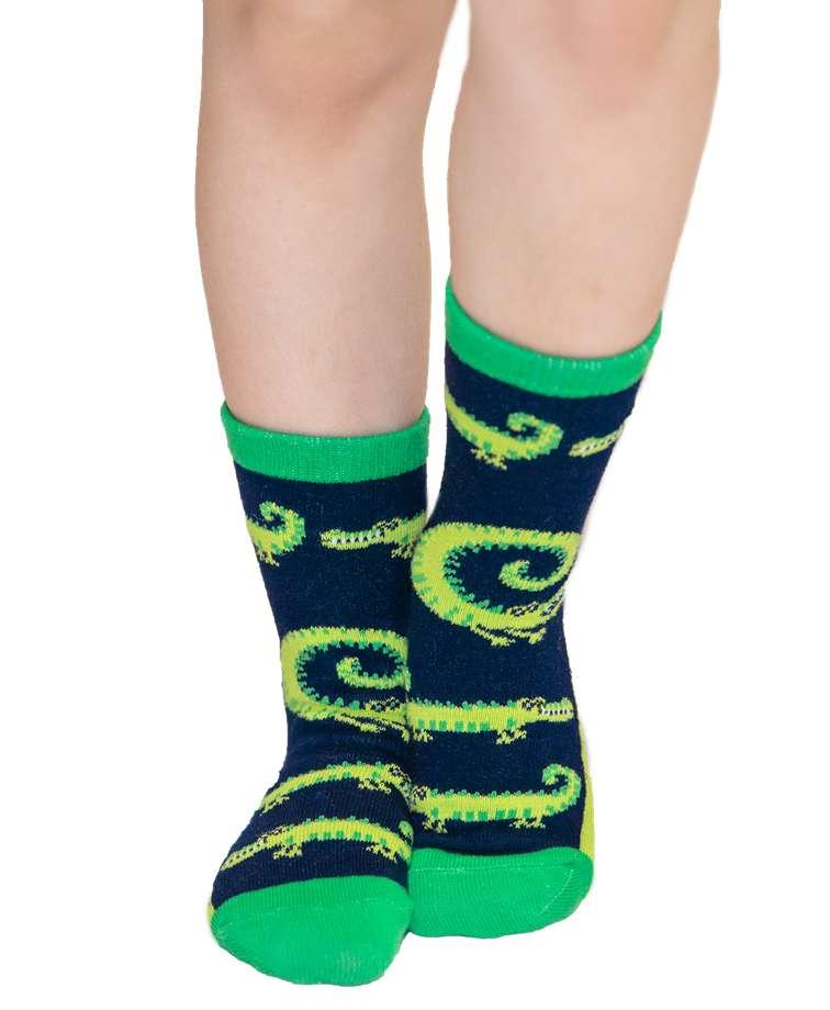 Smell You Later Alligator Kid Sock