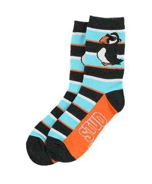 Stud Puffin Kid Sock