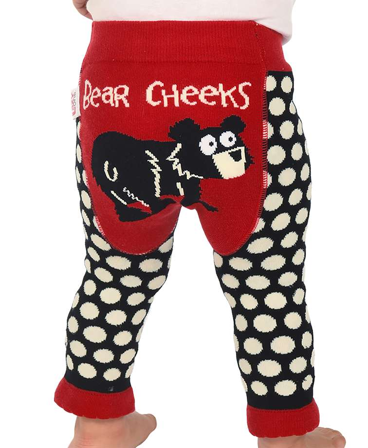 Bear Cheeks Infant Leggings