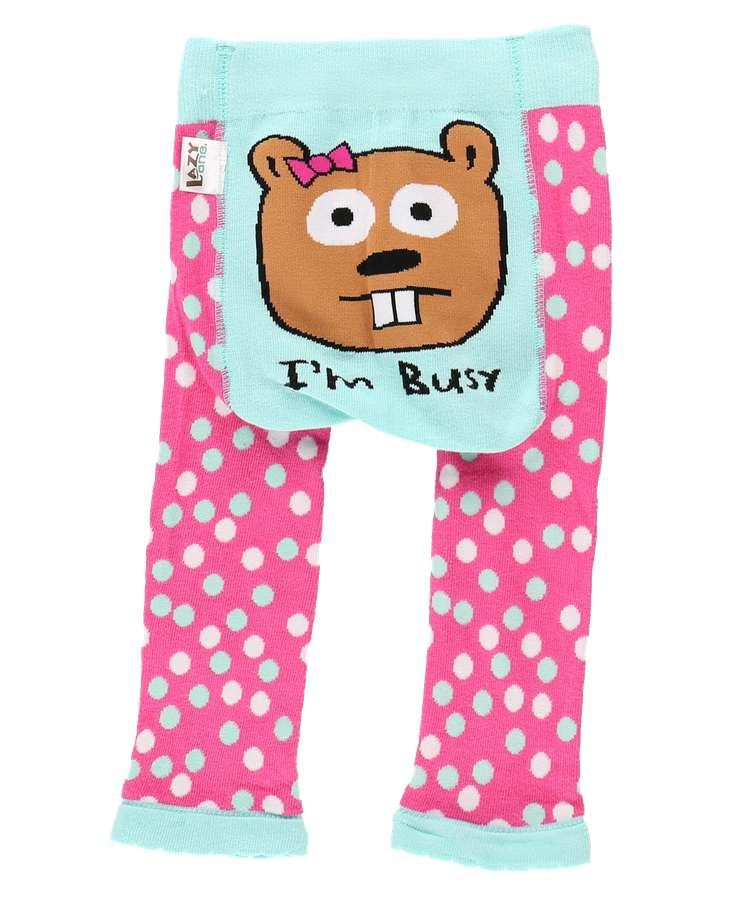 I'm Busy Beaver Infant Leggings