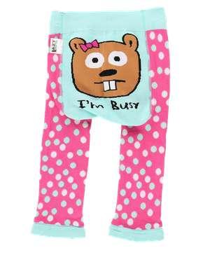 I'm Busy Beaver Infant Leggings