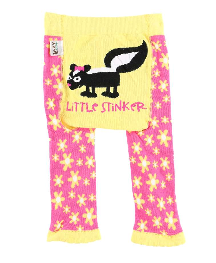 Little Stinker Toddler Skunk Leggings