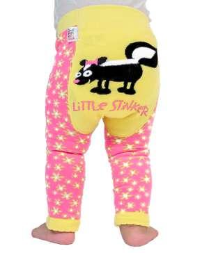 Little Stinker Skunk Infant Leggings