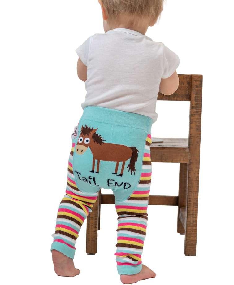 Tail End Horse Infant Leggings