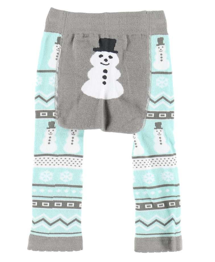 Nordic Snowman Infant Legging