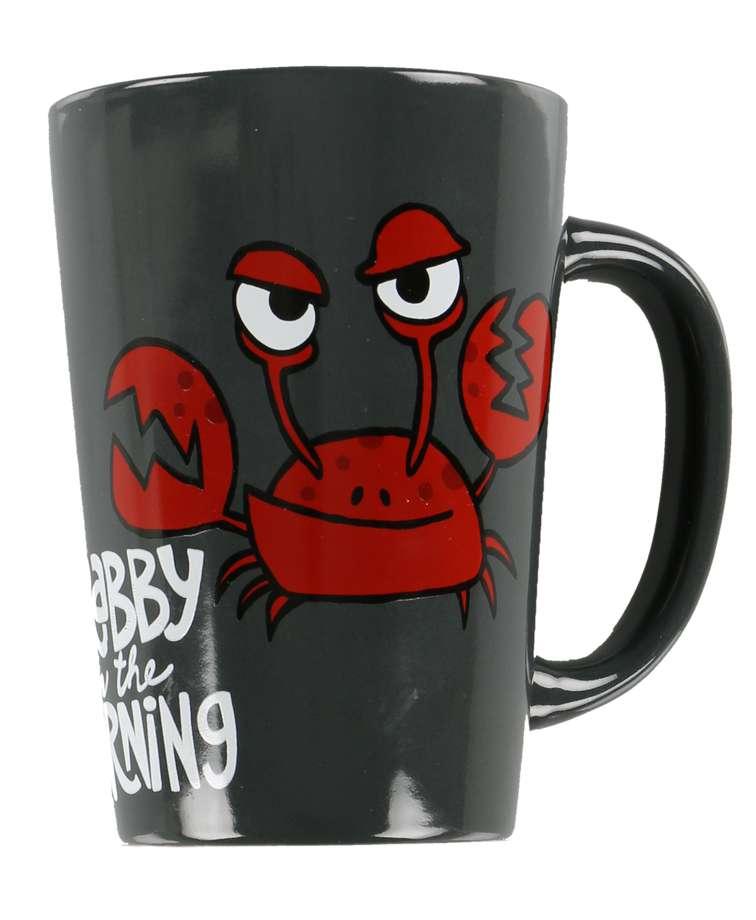 Crabby in the Morning Crab Mug