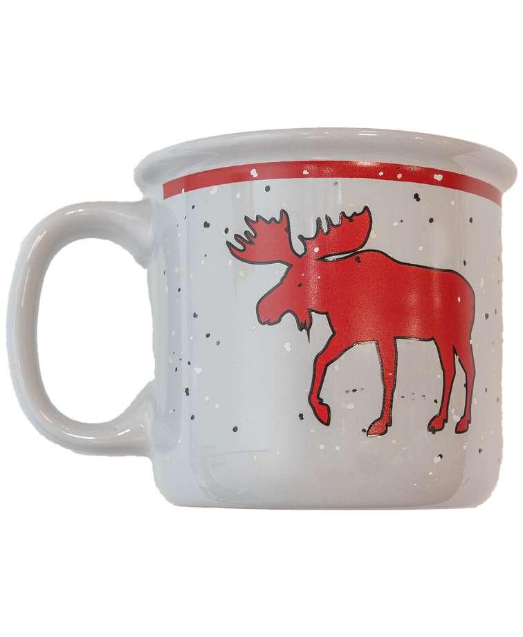 Cabin Moose Mug