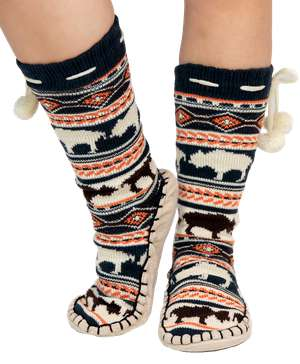 Buffalo Fair Isle Adult Mukluk Slipper