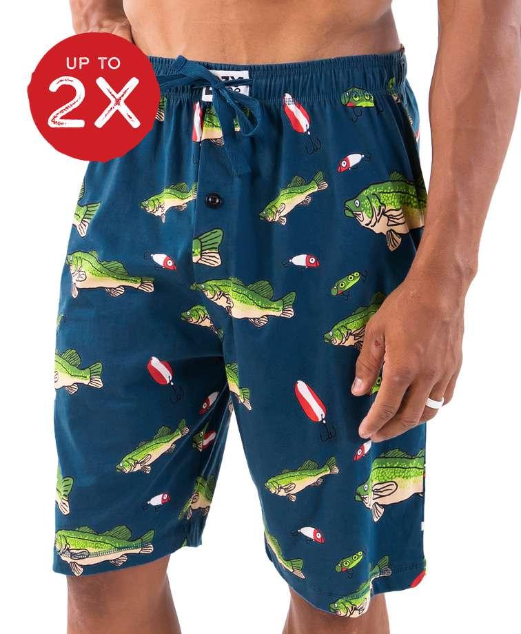 Bass Men's Pajama Shorts