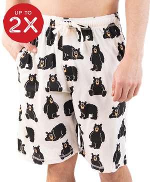 Family Bear Men's Pajama Shorts
