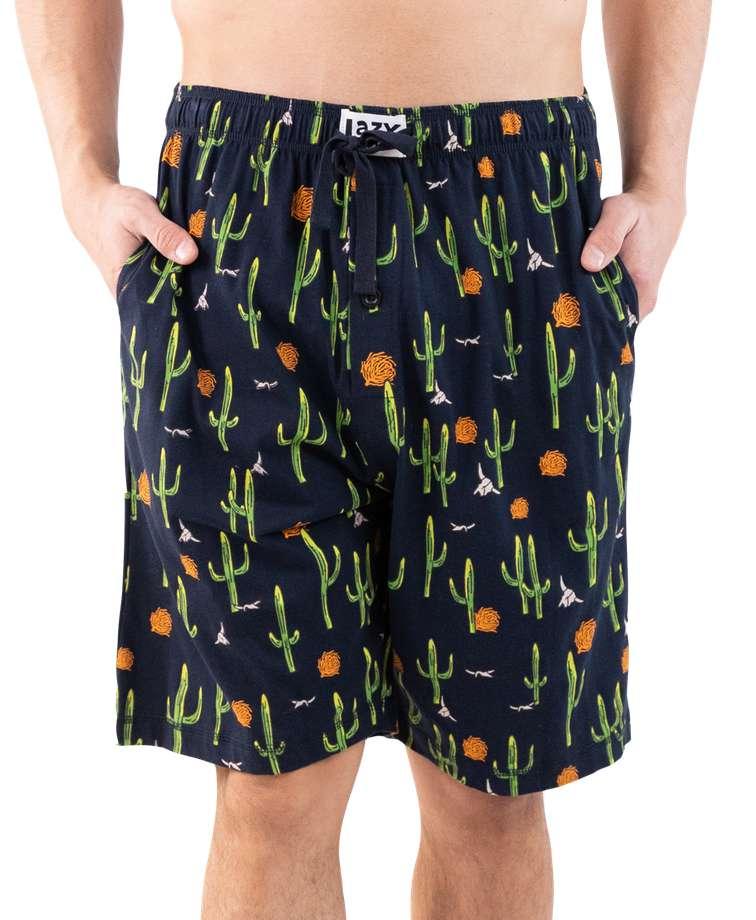 Cactus Men's Pajama Shorts