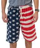 Stars & Stripes Men's Pajama Shorts