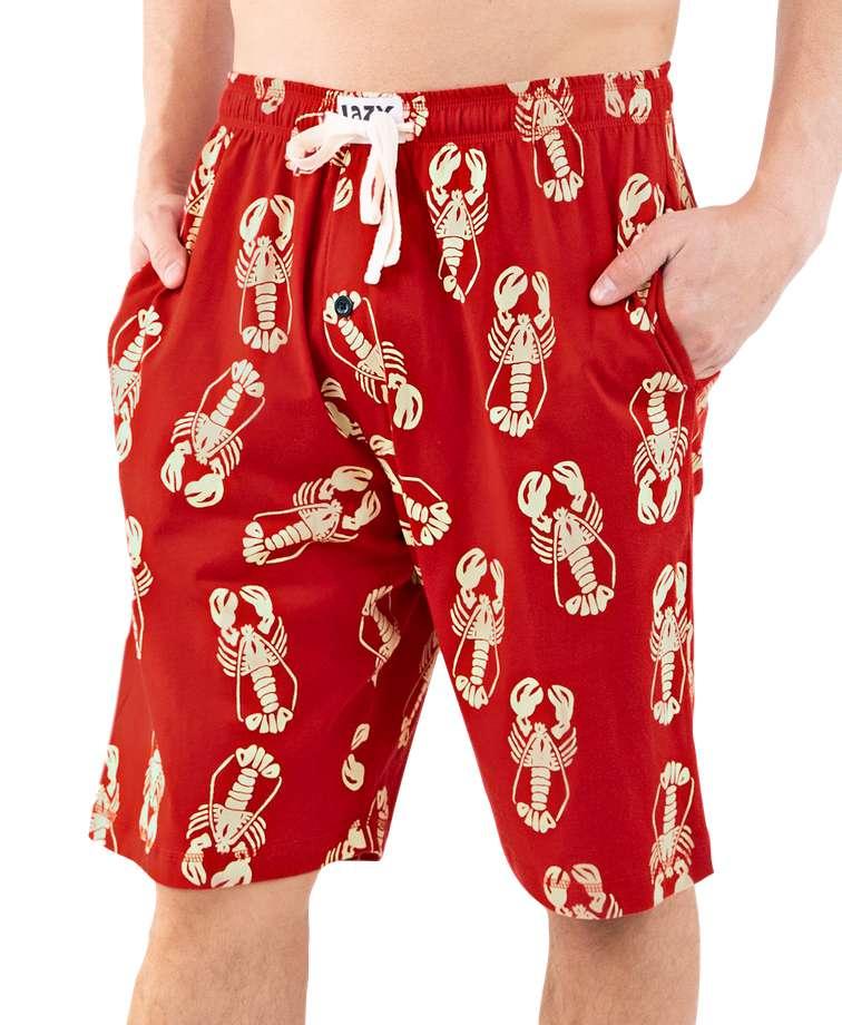 Lobster Men's Pajama Shorts