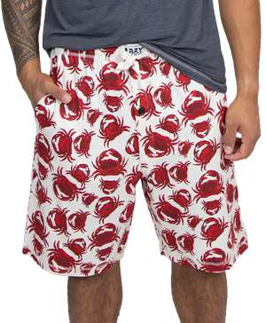 Crab Men's Pajama Shorts