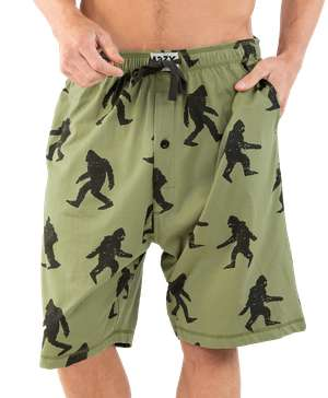 Bigfoot Men's Pajama Shorts