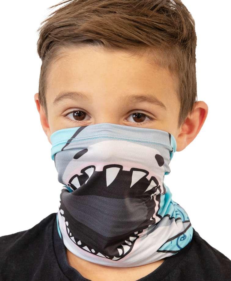 Shark Kid's Neck Gaiter