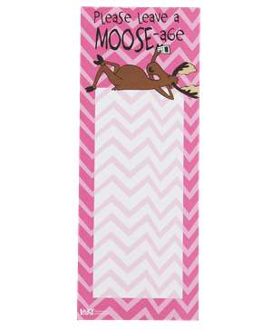 Please Leave a Moose-age Notepad