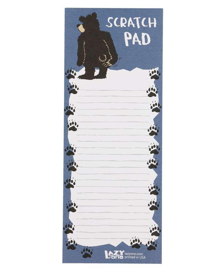 Bear Scratch Pad Notepad