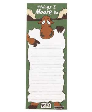 Things I Moose Do Notepad