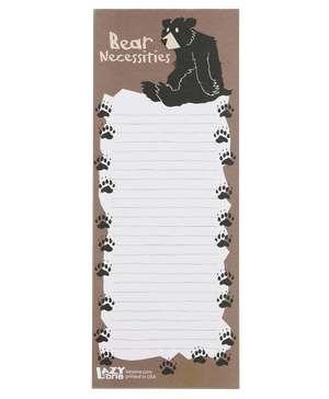 Bear Necessities Notepad